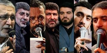 برنامه مناجاتخوانی مداحان سرشناس در دهه دوم رمضان