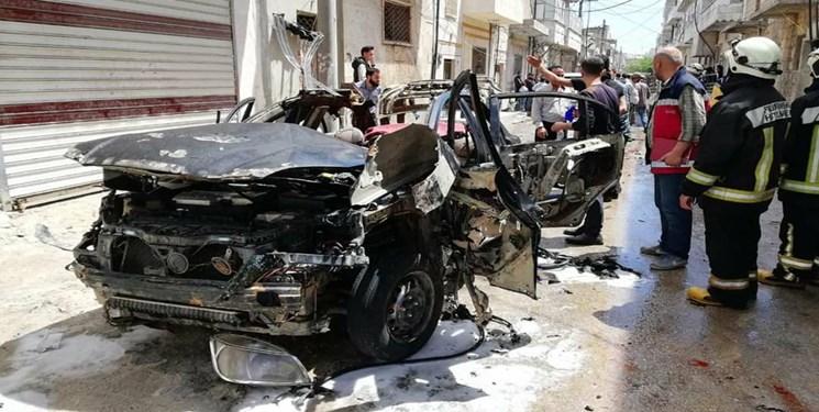 انفجار خودروی بمبگذاری شده در مناطق تحت سیطره ترکیه در شمال سوریه