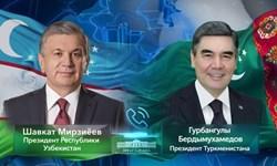 تحکیم روابط محور گفتوگوی تلفنی رؤسای جمهور ازبکستان و ترکمنستان