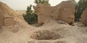 جلوگیری از حفاری غیرمجاز در روستای ژاله زهک و دمبیگان قصرقند