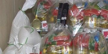 توزیع 1200  بسته غذایی توسط بنیاد برکت در درهشهر