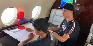 جریمه 265 هزار یورویی در انتظار پسر 10 ساله کریس رونالدو