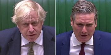 رهبر حزب کارگر انگلیس: سخنان جانسون بزرگترین تهدید برای آینده کشور است