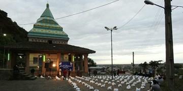 عکس| طرح مواسات هیئتیها در شیخ زاهد گیلانی