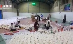 فیلم| شوخی جالب جهادگران کمک مؤمنانه به سبک سریال «نون.خ»