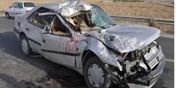 یک کشته و 5 مصدوم در پی برخورد پژو با حیوان