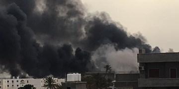 حمله موشکی شبهنظامیان «حفتر» به فرودگاه «معیتیقه»