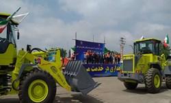 الحاق ۹ دستگاه ماشینآلات سنگین جدید به ناوگان راهداری گیلان