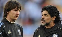 کاناوارو: مسی برتر است اما مارادونا از دنیای دیگری است
