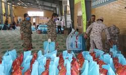 کمک مومنانه؛ توزیع 1000 بسته معیشتی در رزمایش مواسات سپاه رفسنجان
