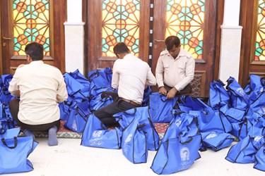 گزارش تصویری-   مرحله دوم کمک های استان قدس رضوی   ((سفره مهربانی ))