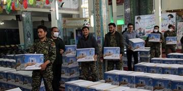 توزیع ۲ هزار بسته معیشتی توسط سپاه و بسیج در شهرستان اهر