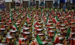 توزیع ده هزار بسته کمک مومنانه در مرحله دوم توسط سپاه پاسداران