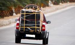 توقیف خودروی شوتی حامل پارچههای قاچاق در آشتیان
