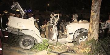 3 کشته و زخمی در برخورد پژو 405 با درخت در بندرعباس