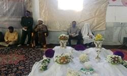 برگزاری جشن ازدواج آسان 40 زوج در فهرج