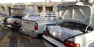 توزیع ۱۸۰۰ پرس غذا بین نیازمندان شهر سردشت «بشاگرد»+عکس