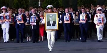 تحویل اسناد فداکاری «بردی محمد انایف» به مقامات ترکمن