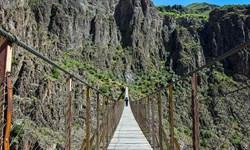 بازدید مجازی| پل معلق پیرتقی هشتجین استان اردبیل