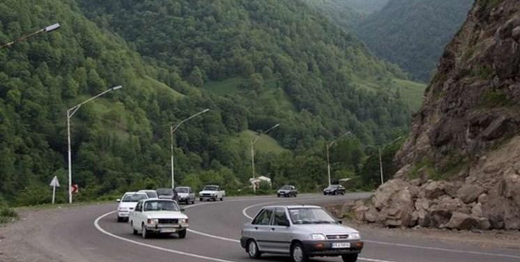 اعمال محدودیتهای ترافیکی در جادههای گیلان