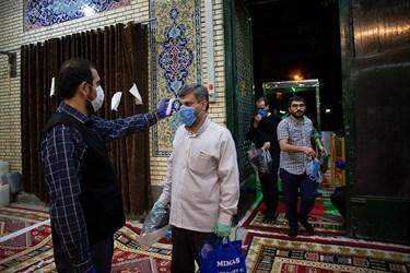 اولین شب مراسم مسجد ارک