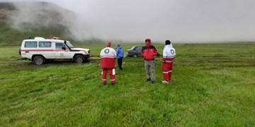 نجات ۲ مفقودی در ارتفاعات شهرستان مهدیشهر