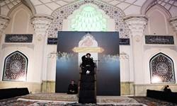عکس  نخستین شب از لیالی قدر در مصلای اردبیل