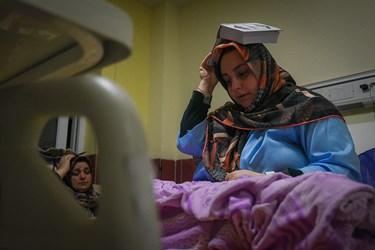 شب قدر در بیمارستان امام خمینی شهرستان ساری