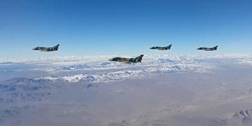 چالش جدید جنگندههای سپاه برای پدافند هوایی دشمن/ نقطهزنها اینبار از آسمان شلیک میشوند