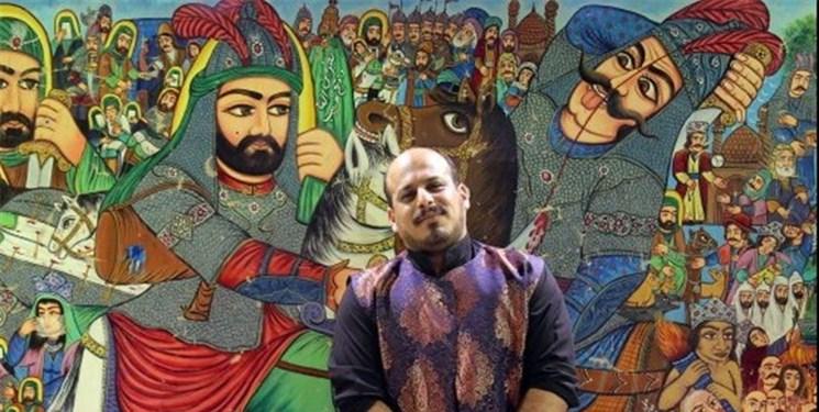 تکنولوژی در خدمت یک هنر آیینی/ نخستین پرده خوانی پُست در ایران اجرا شد+فیلم