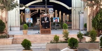 فیلم| حال و هوای گلزار شهدای کرمان در دومین شب قدر