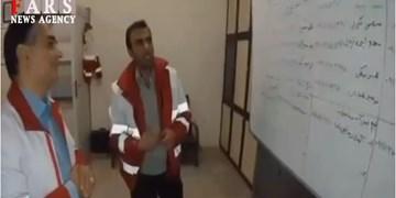 فیلم|مانور سنجش آمادگی نیروهای هلال احمر آذربایجانغربی