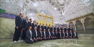 «بانوی کرم» جدیدترین اثر گروه محمد رسول الله (ص) رونمایی شد+فیلم