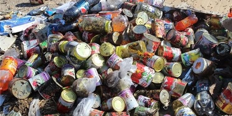 امحای ۲۵۰۰ کیلوگرم مواد غذایی تاریخ گذشته در شهرستان بویراحمد