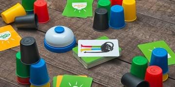 سرگرمی در خانه با «کاپوچین»/ هیجان  یک بازی پرخنده با لیوانک های رنگی رنگی