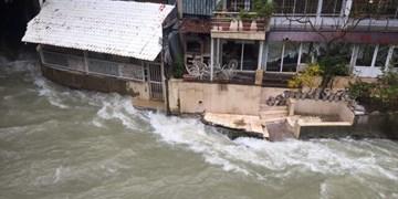 فیلم| تصرف رودخانه کرج به روایت تصویر