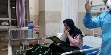 بیمارانی با آرزوی یک نفس راحت/ حال و هوای بیماران کرونایی مشهد در سومین شب قدر + فیلم و عکس