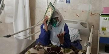 فیلم| حال و هوای بیماران کرونایی مشهد در آخرین شب قدر
