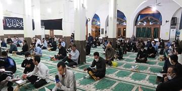 عکس/ حالوهوای مسجد قرآن در شب 23 رمضان