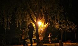 شب قدر در مزار شهدا شهر ایلام