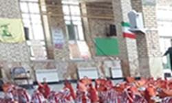 حضور ورزشکاران بسیجی در رزمایش« کمک مومنانه، همت پهلوانانه