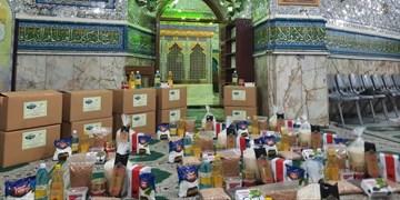 توزیع مهربانی میان باربران بازار تهران