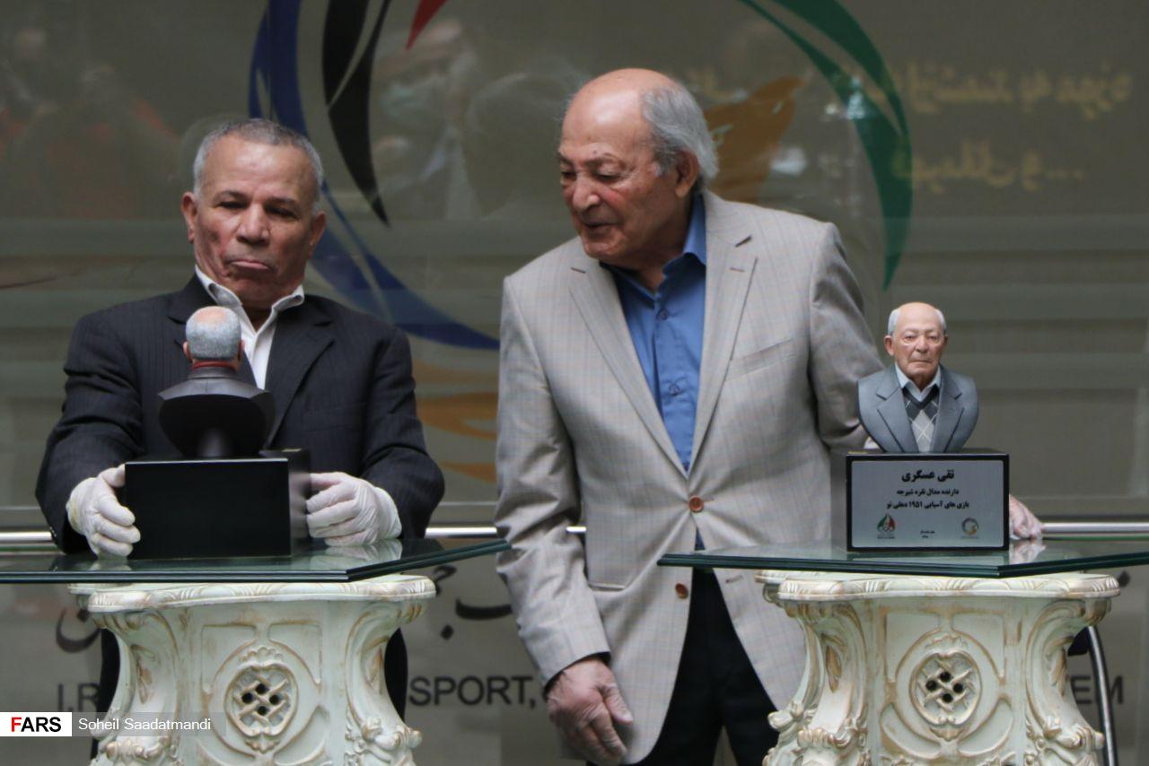 گزارش تصویری از مراسم اهدای مدال و جام به موزه ورزش