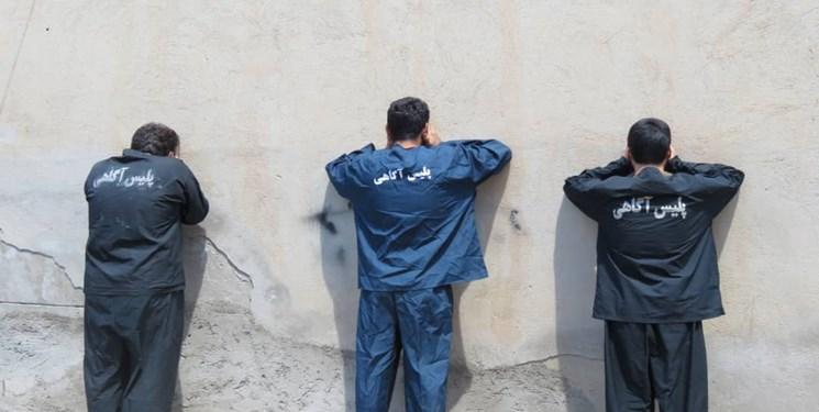 سارقان «پژو سوار» در یاسوج دستگیر شدند