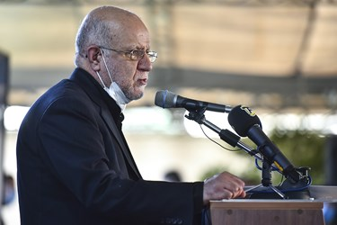 سخنرانی بیژن زنگنه در مراسم یادبود مرحوم حسین کاظمپور اردبیلی