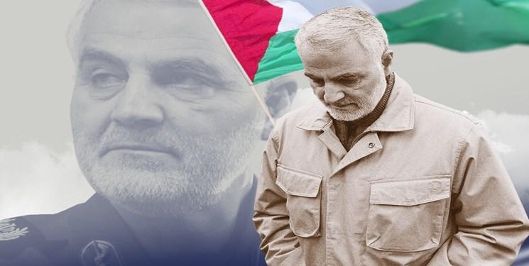 نامه شهید سلیمانی به فرمانده فلسطینی: آرزو دارم در راه فلسطین شهید شوم