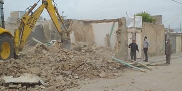 تخریب ۱۰ پاتوق معتادین در بجنورد انجام شد