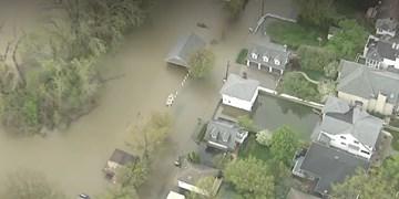 سیل در ایالت میشیگان موجب تخلیه هزاران نفر در برخی از مناطق شد