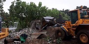 تخریب ۸هکتار ساختوساز غیرمجاز در کهریزک