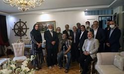 دیدار اعضای مجمع خیرین کشور با «رضا رویگری»